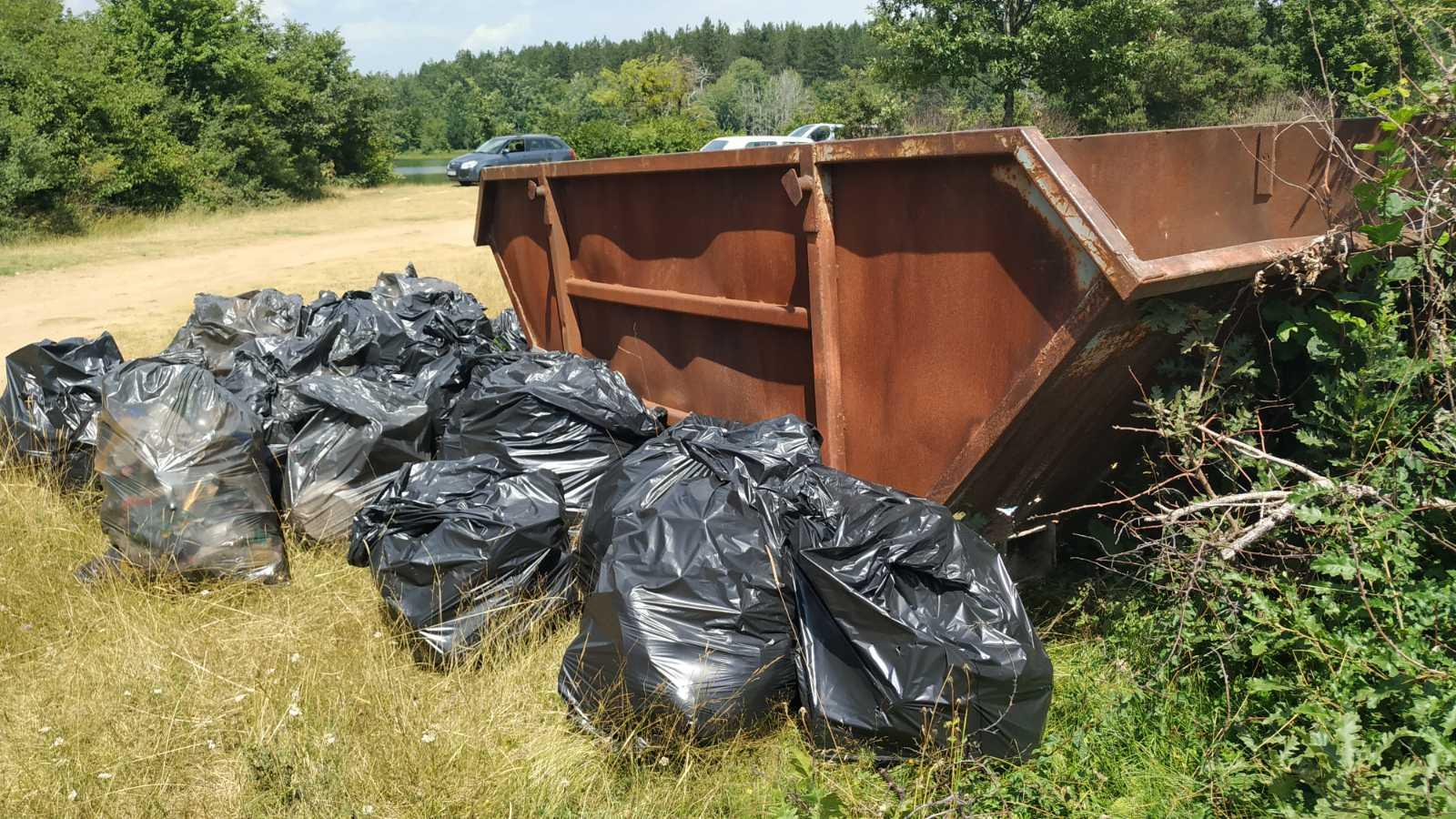 Eco HUB Blagaj – Akcija čišćenja U Nevesinju, Jezero Alagovac