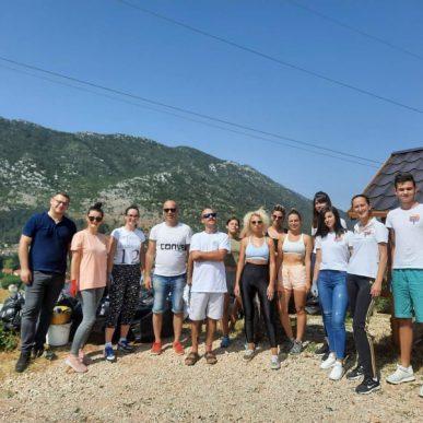 Eko HUB Blagaj/Novi Val Održao Drugu Akciju čišćenja Na Području Lokalne Zajednice Ljubinje