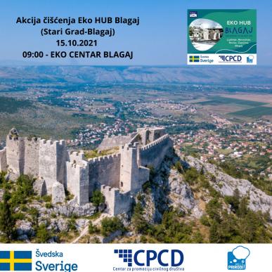 Eko HUB Blagaj/Novi Val Organizuje Još Jednu Akciju čišćenja Na Području Lokalne Zajednice Blagaj